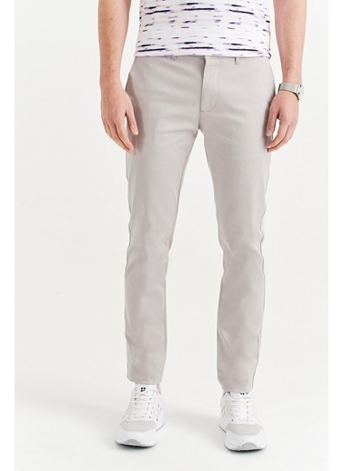 Avva Erkek  Yandan Cepli Basic Slim Fit Pantolon A01Y3042 Taş